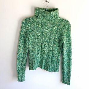 Express Wool Cashmere Blend Turtleneck Sweater